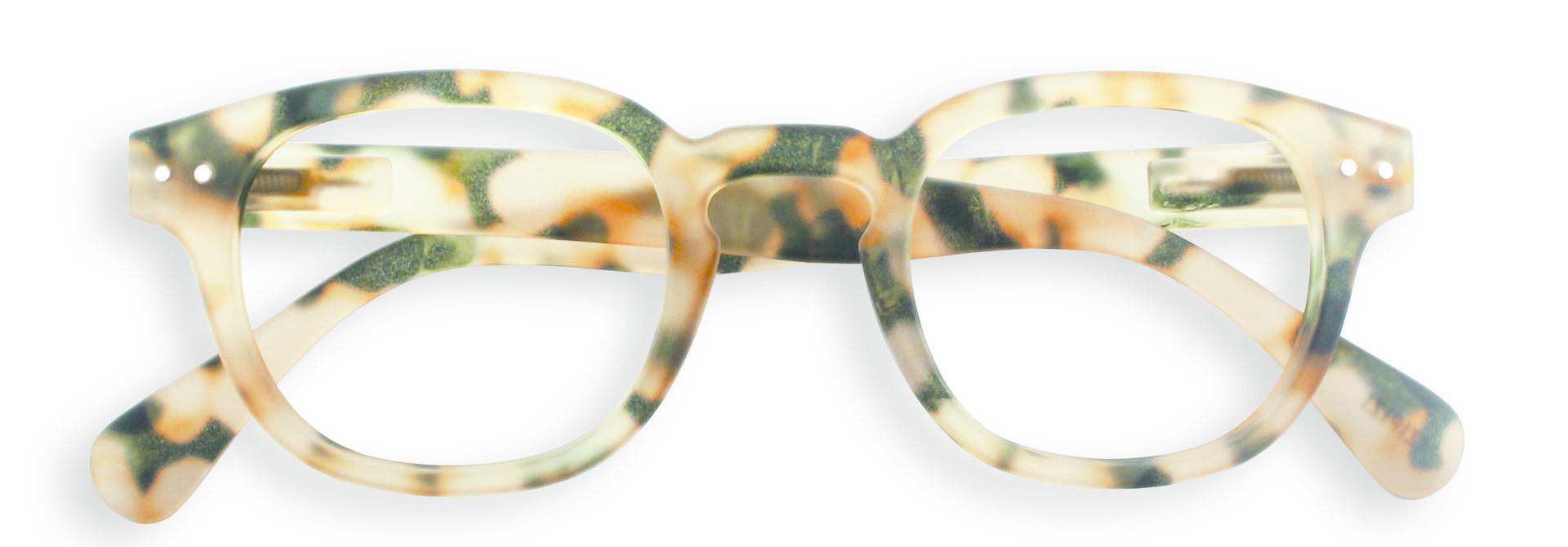 Izipizi leesbril model C Light Tortoise