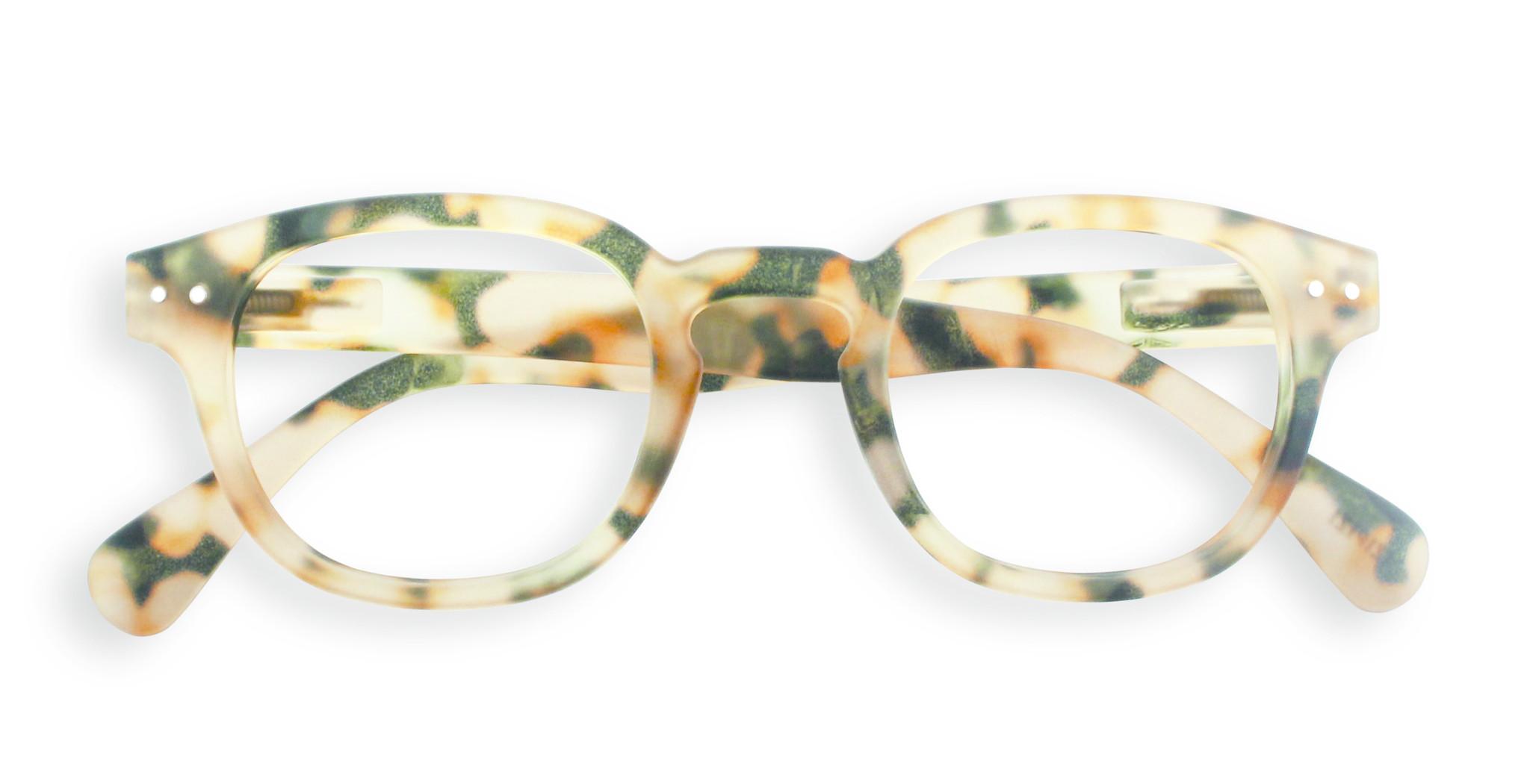 Izipizi leesbril model C Light Tortoise-1