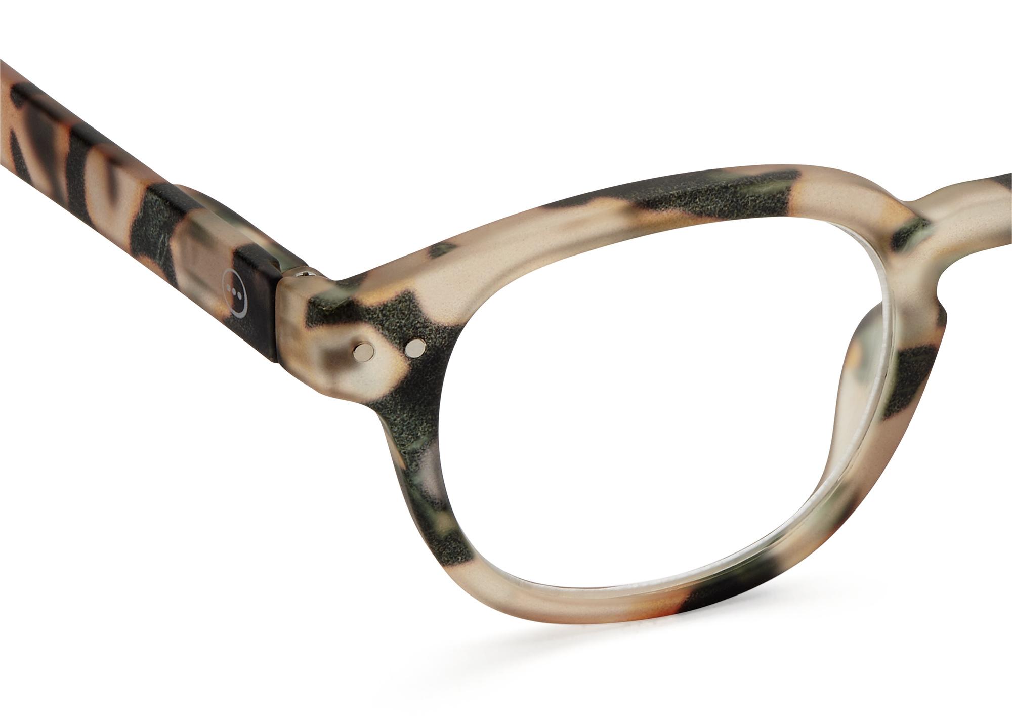 Izipizi leesbril model C Light Tortoise-2