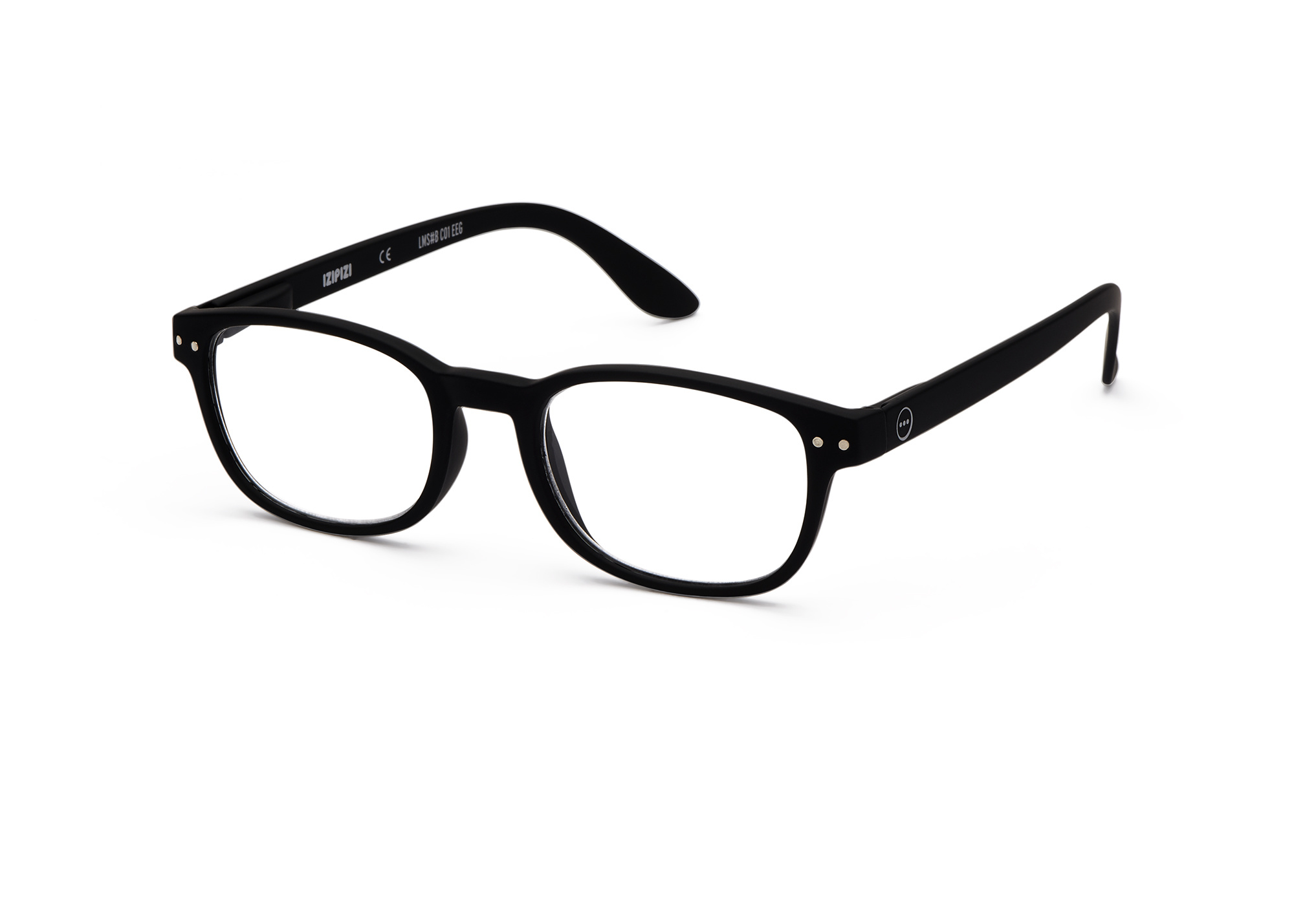 Izipizi leesbril model B Black-3