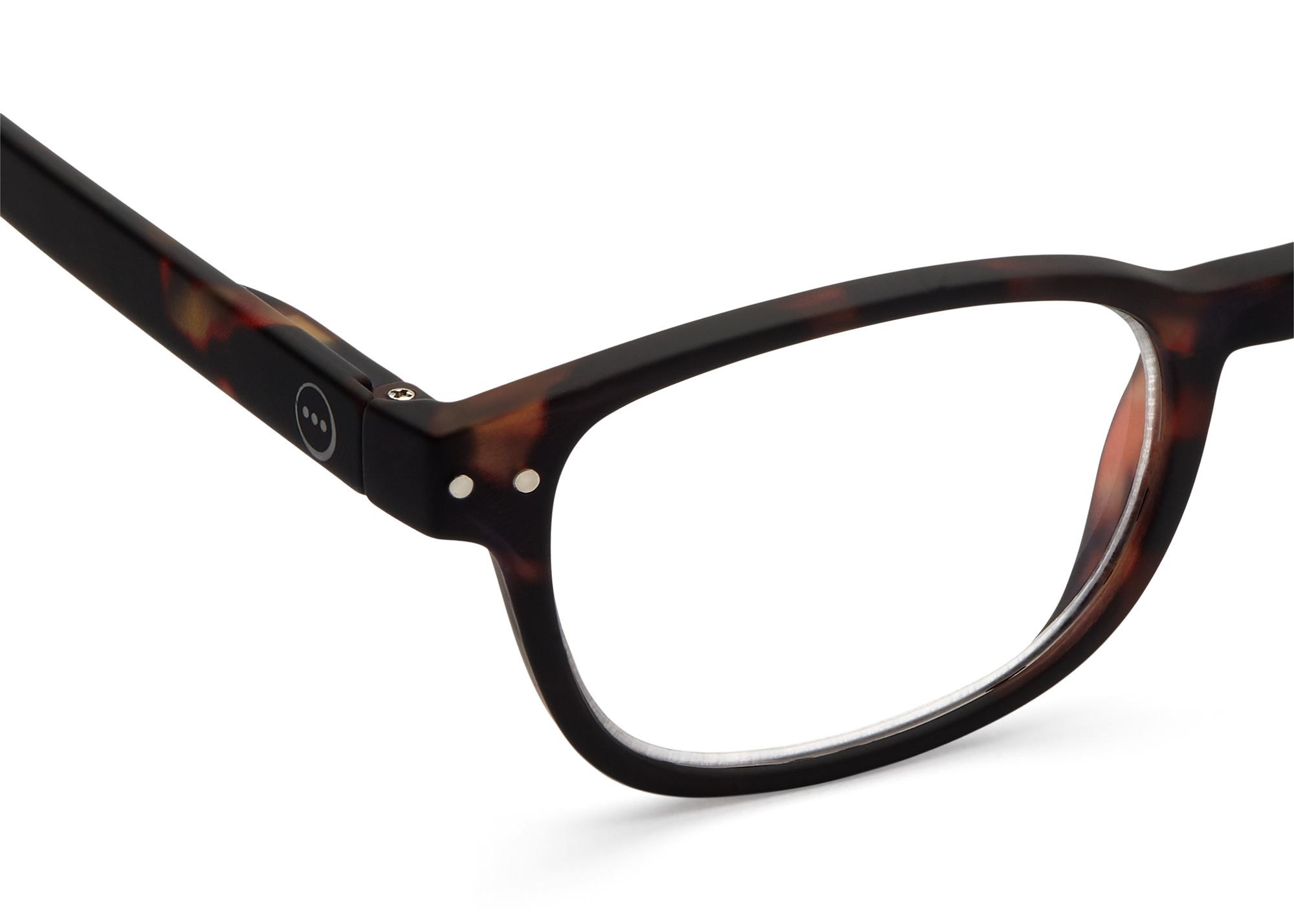 Izipizi leesbril model B Tortoise-2
