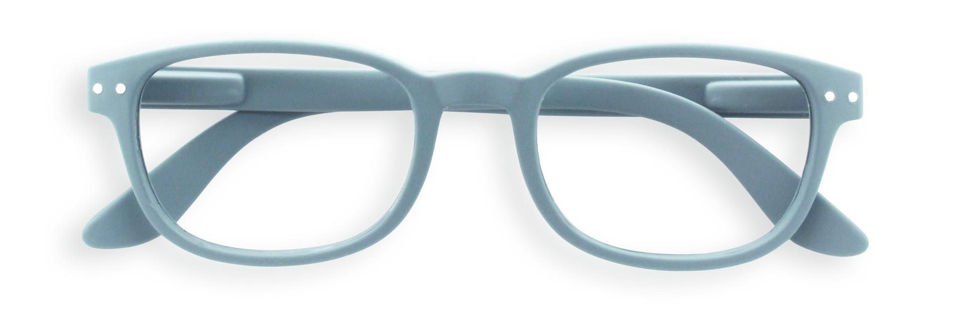 Izipizi leesbril model B Grey
