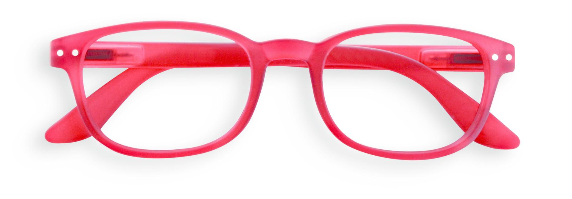 Izipizi leesbril model B Red