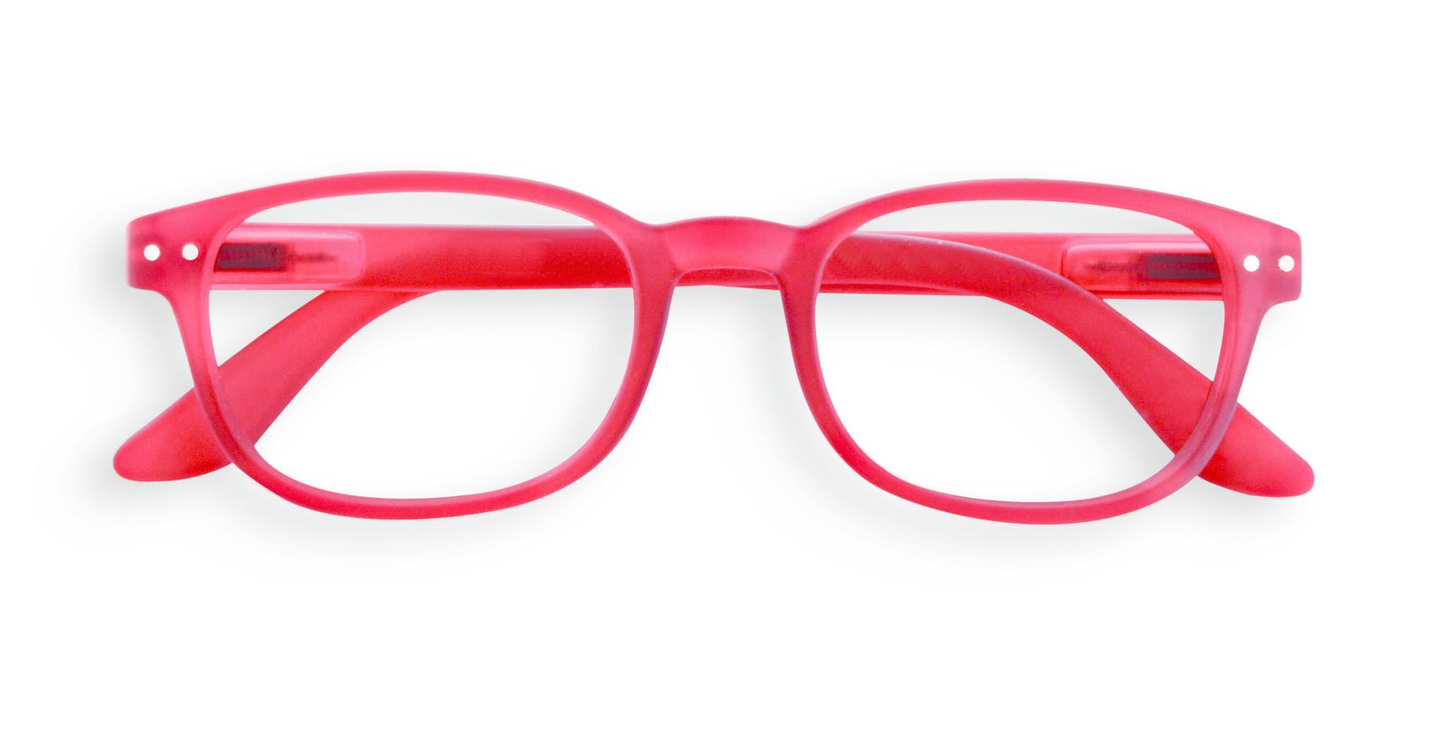 Izipizi leesbril model B Red-1
