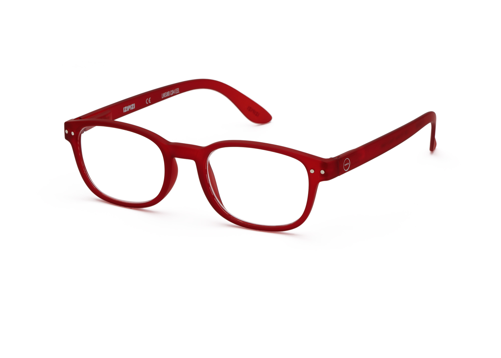 Izipizi leesbril model B Red-3