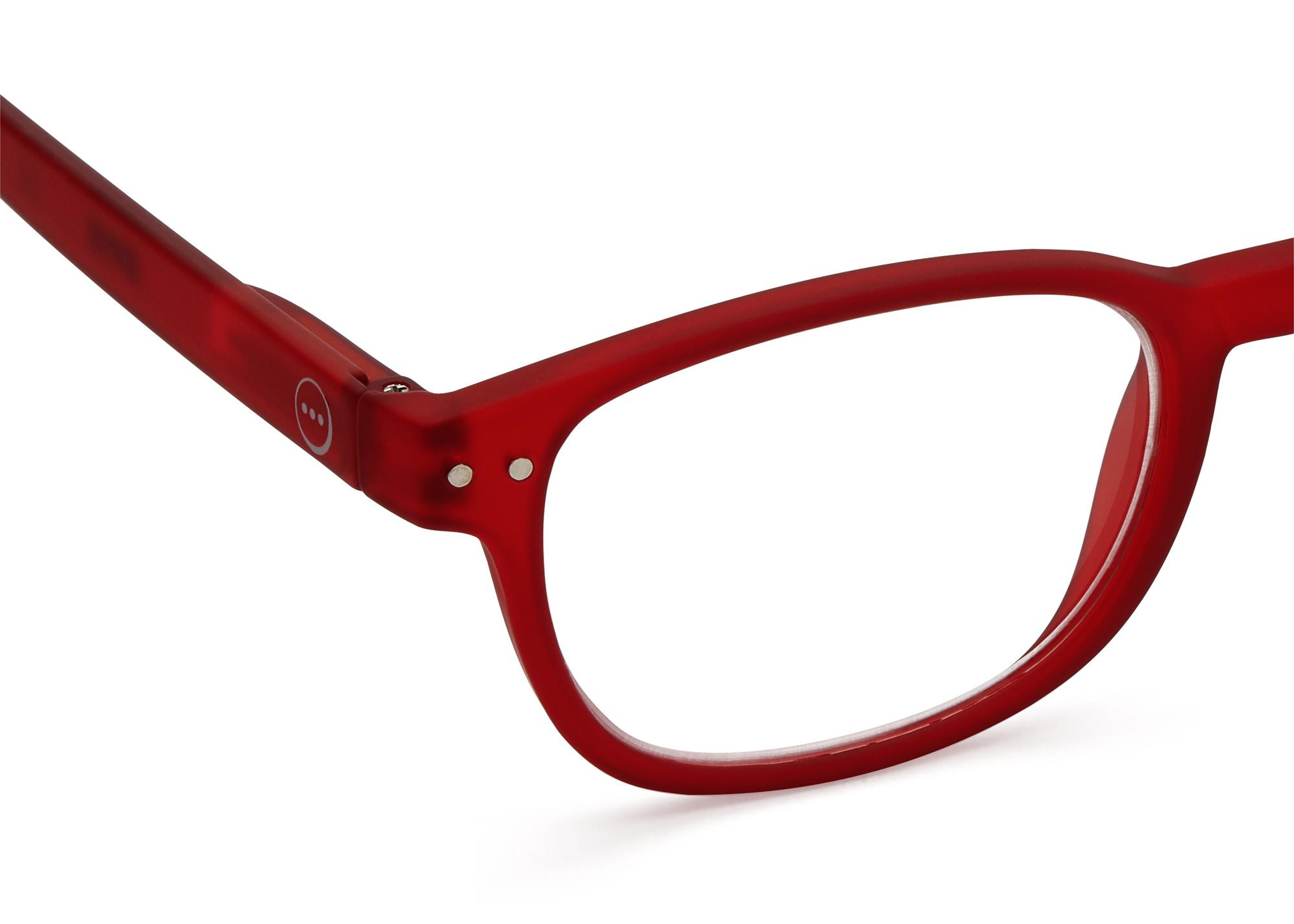 Izipizi leesbril model B Red-2