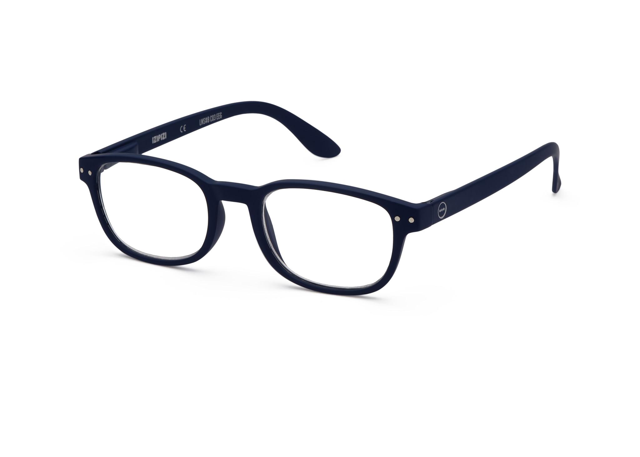 Izipizi leesbril model B Navy Blue-3