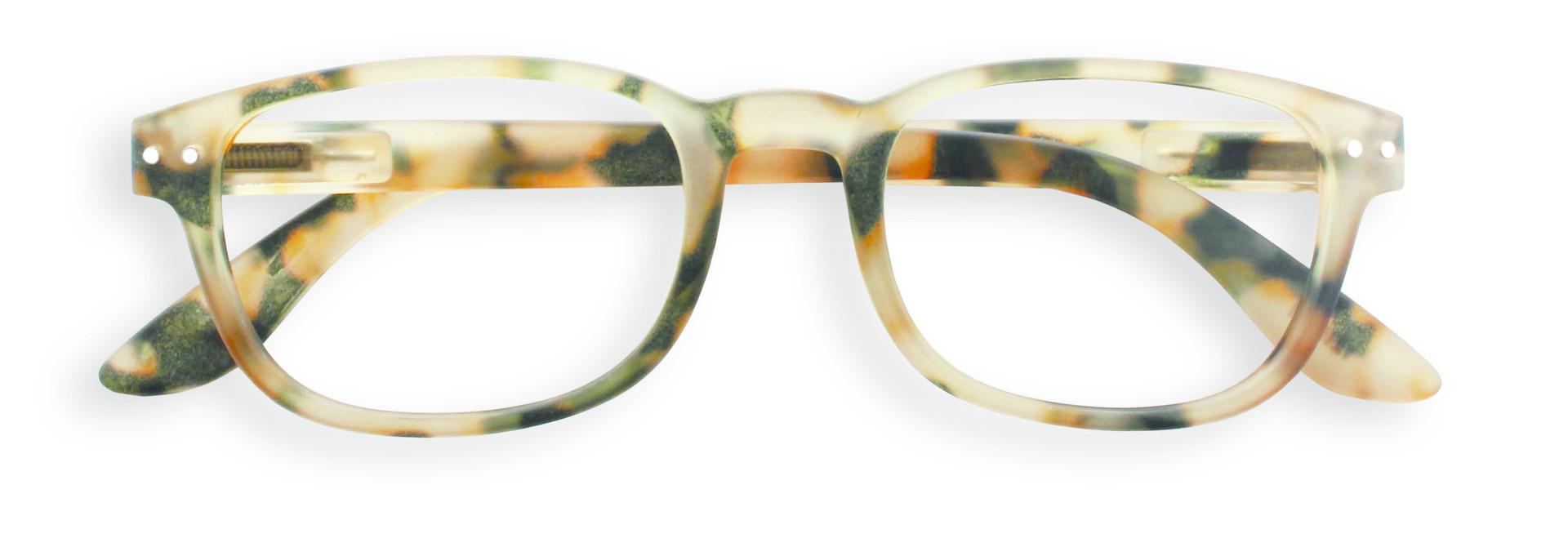 Izipizi leesbril model B Light Tortoise