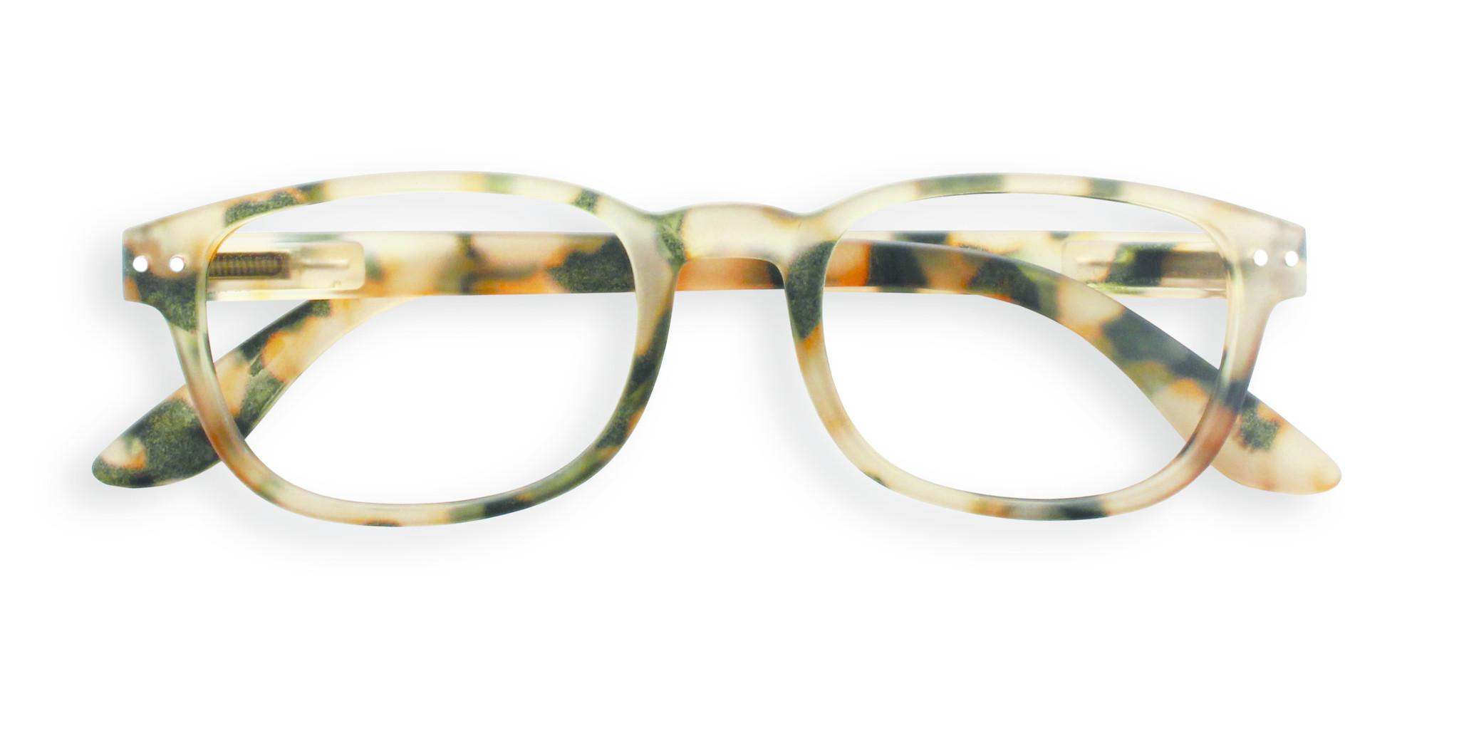 Izipizi leesbril model B Light Tortoise-1