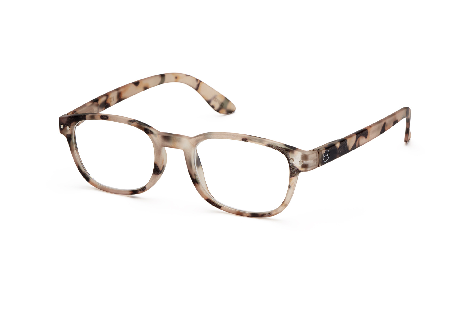 Izipizi leesbril model B Light Tortoise-3