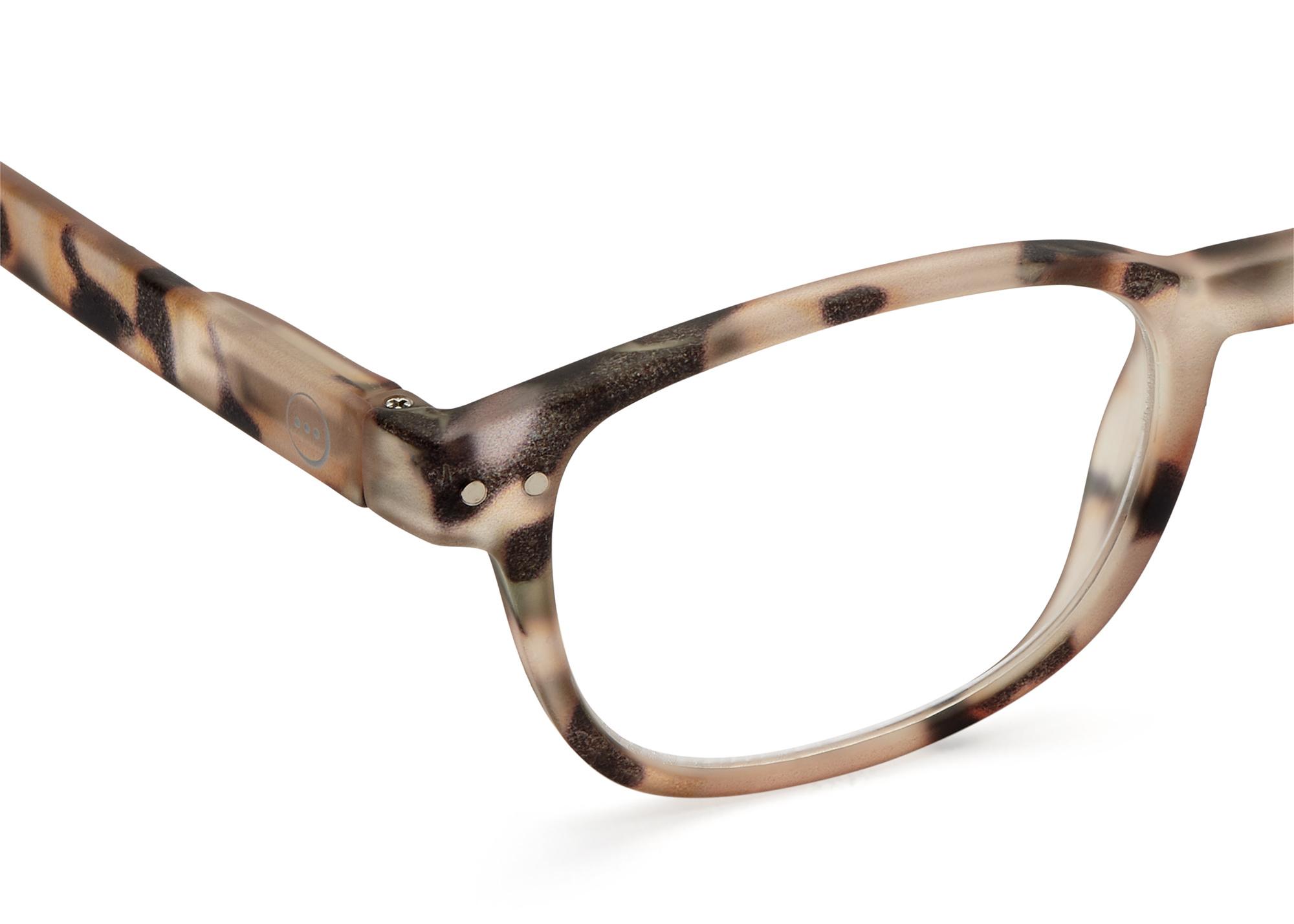 Izipizi leesbril model B Light Tortoise-2