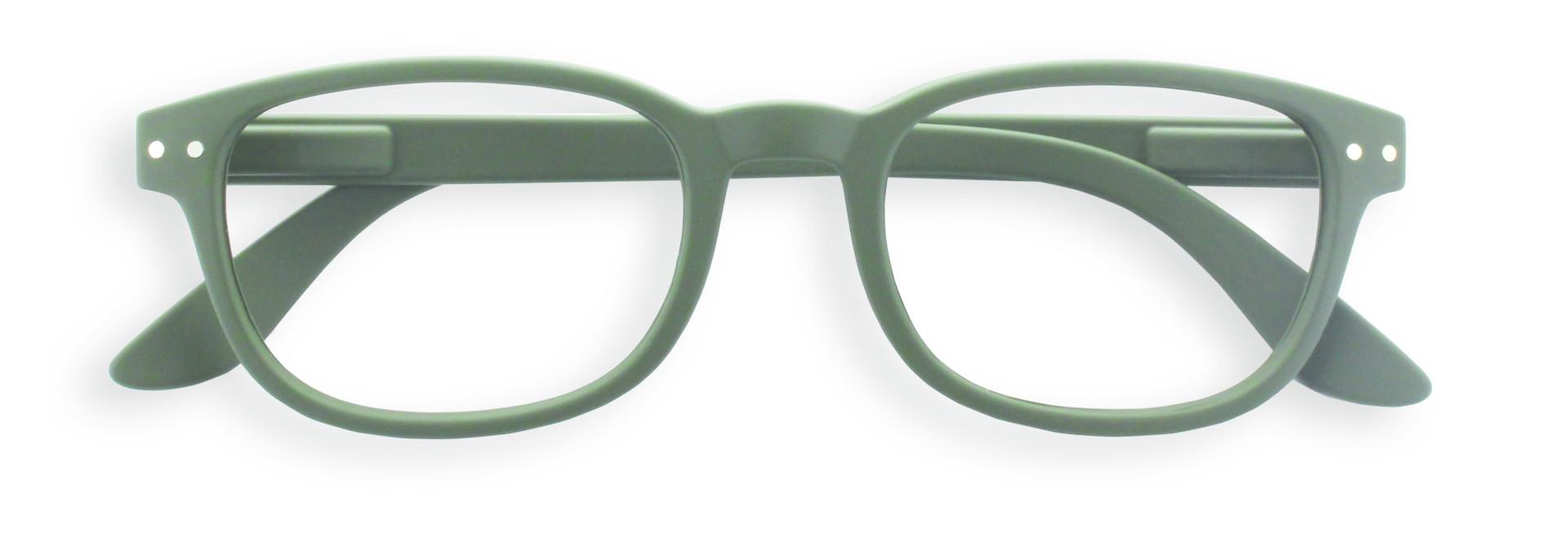 Izipizi leesbril model B Kaki Green