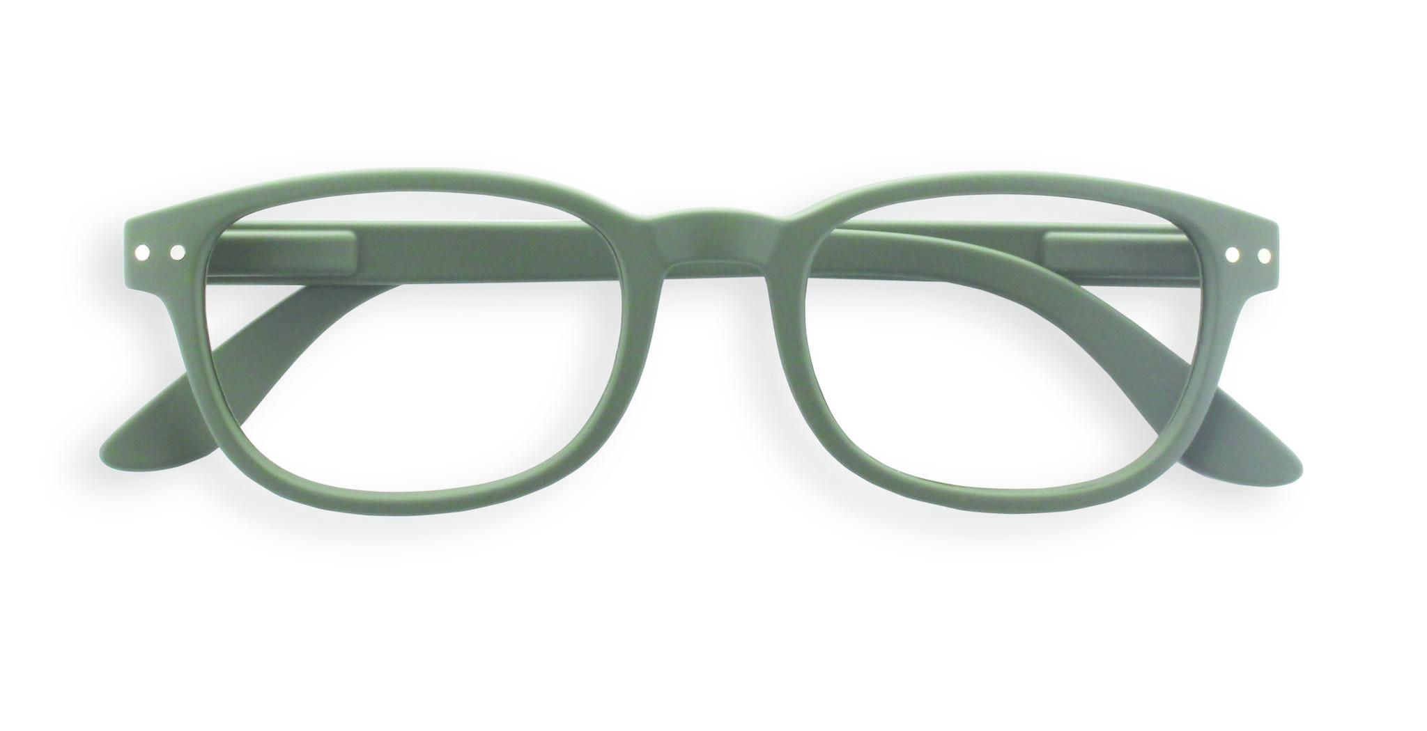 Izipizi leesbril model B Kaki Green-1