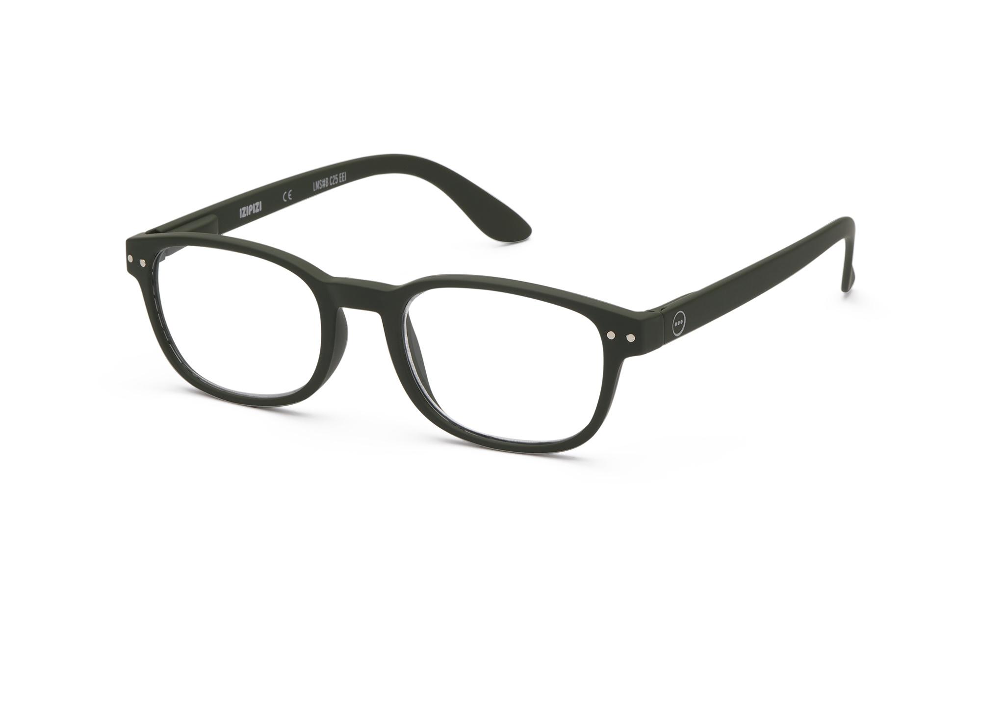 Izipizi leesbril model B Kaki Green-3
