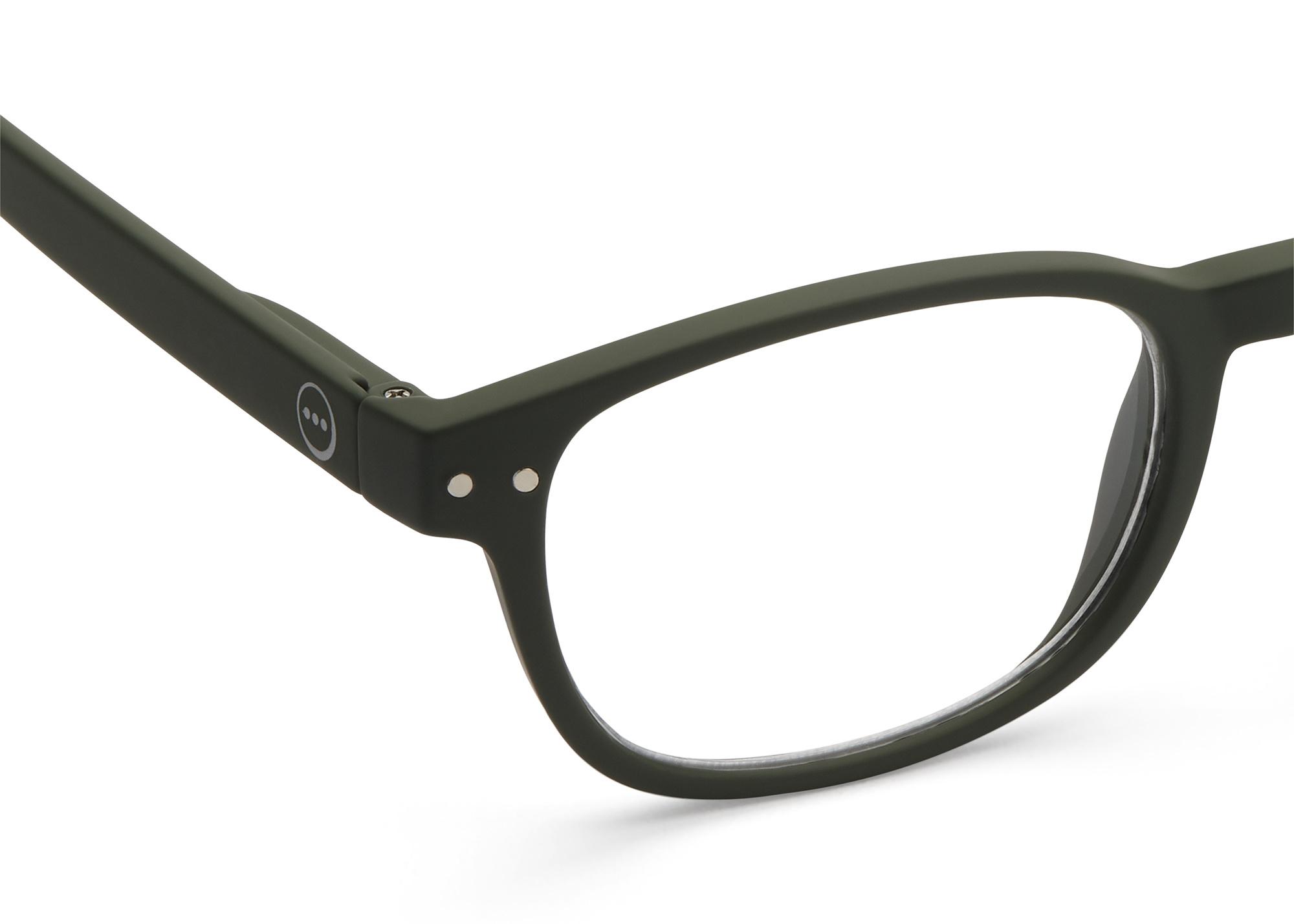 Izipizi leesbril model B Kaki Green-2