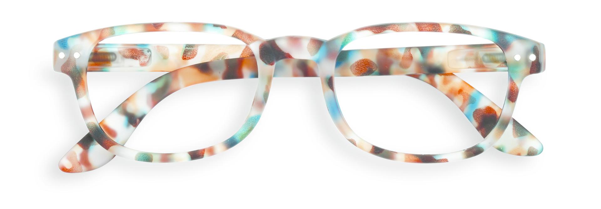 Izipizi leesbril model B Blue Tortoise