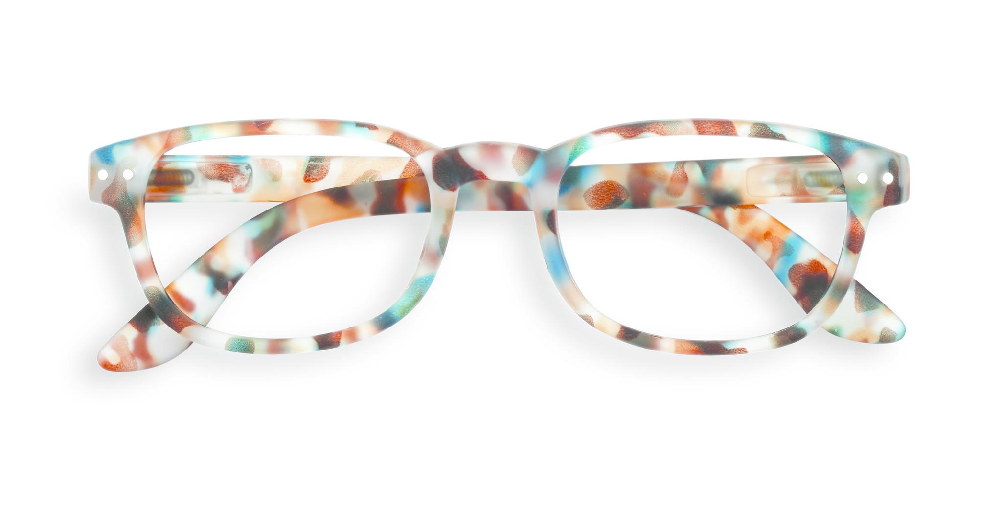 Izipizi leesbril model B Blue Tortoise-1