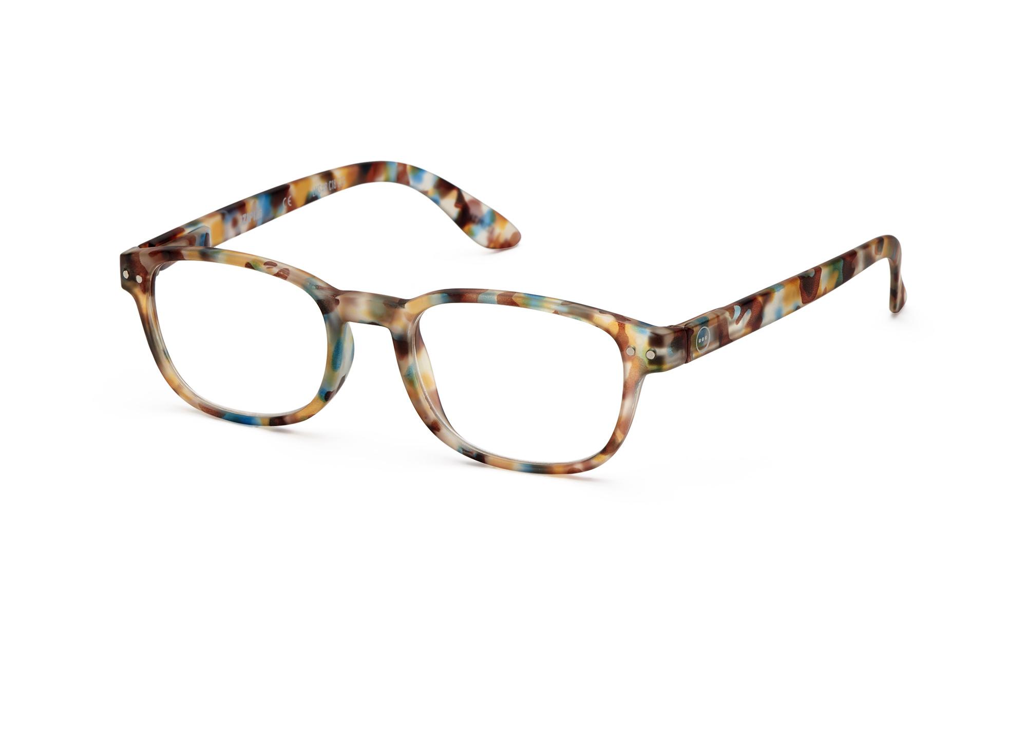 Izipizi leesbril model B Blue Tortoise-3