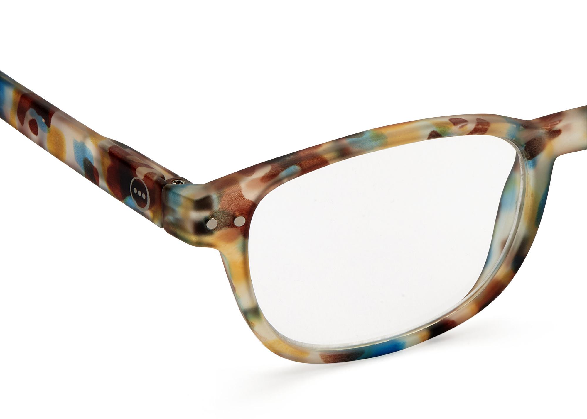 Izipizi leesbril model B Blue Tortoise-2