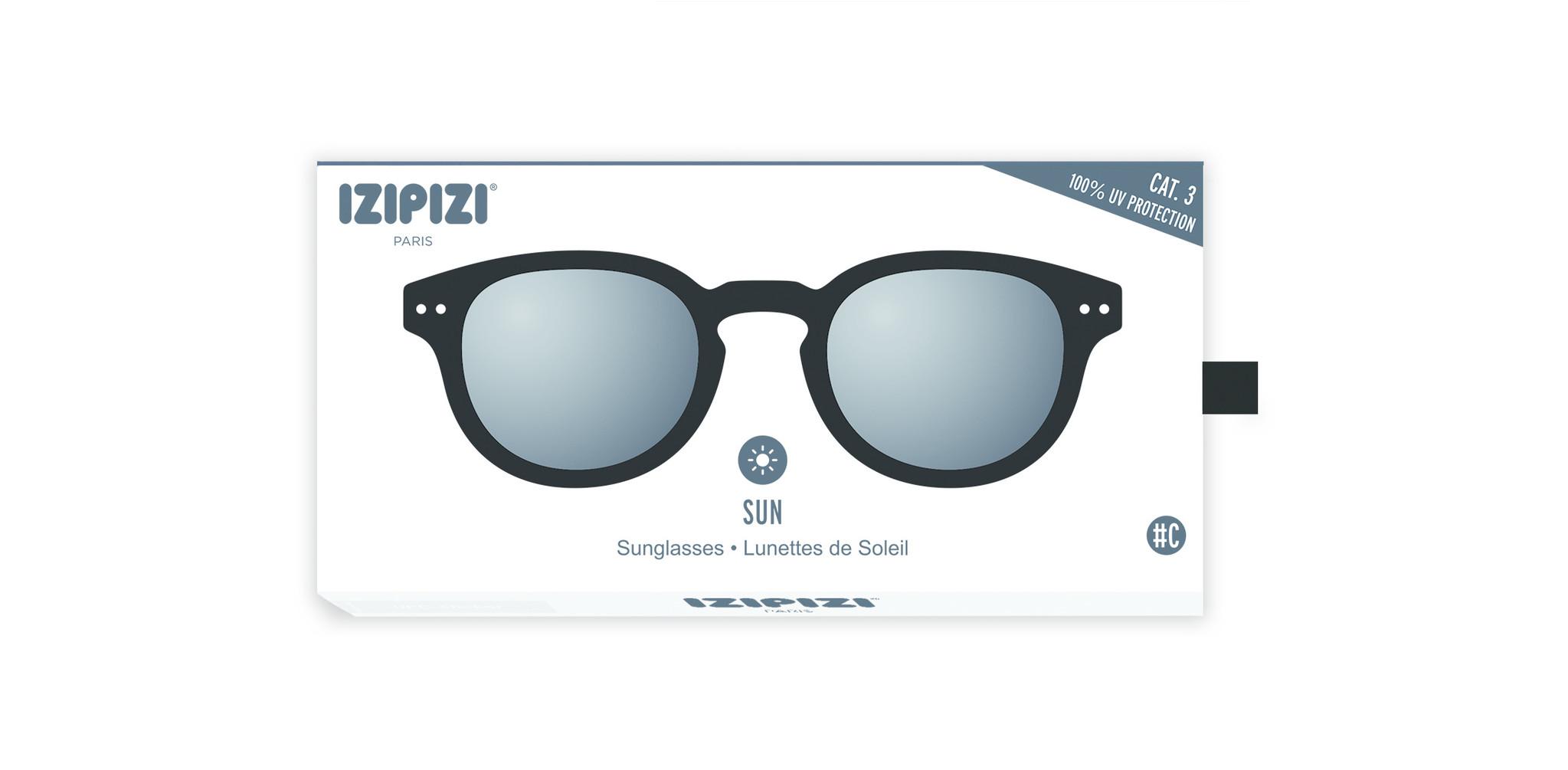 Izipizi Sun leesbril model C Black-2