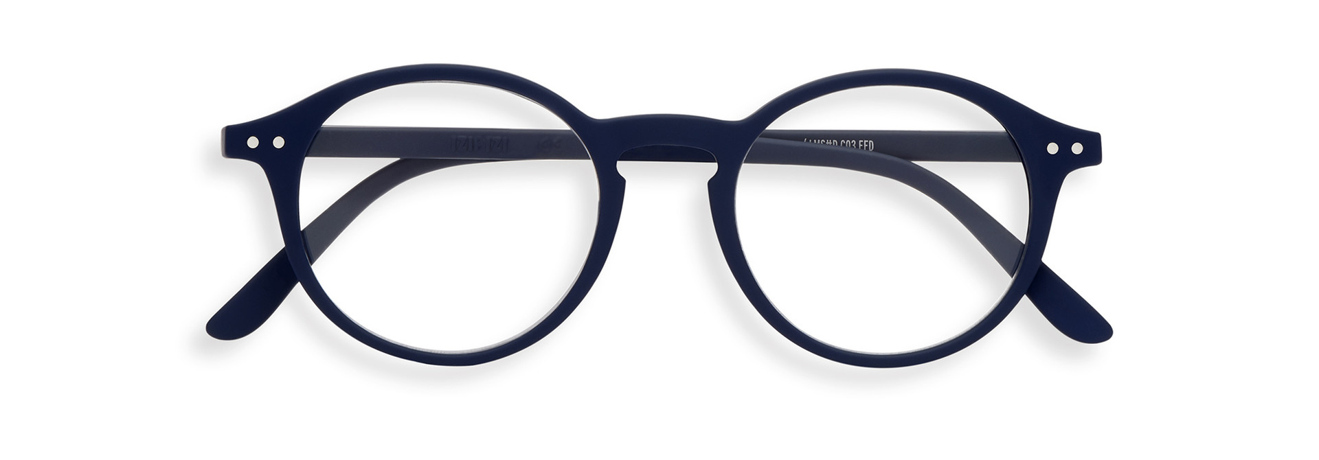 Izipizi leesbril model D Navy Blue