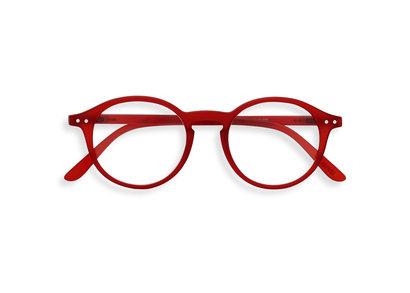 Izipizi leesbril model D Red