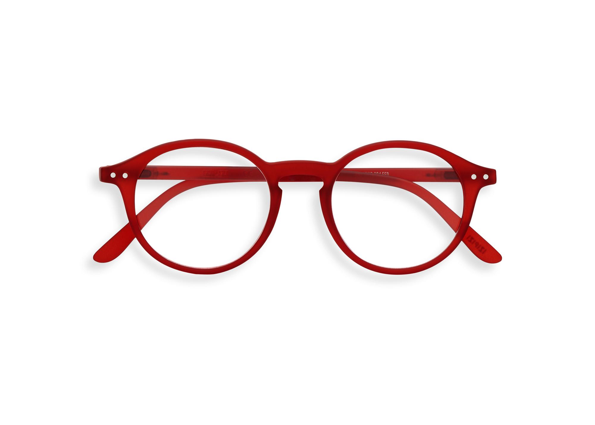 Izipizi leesbril model D Red-1