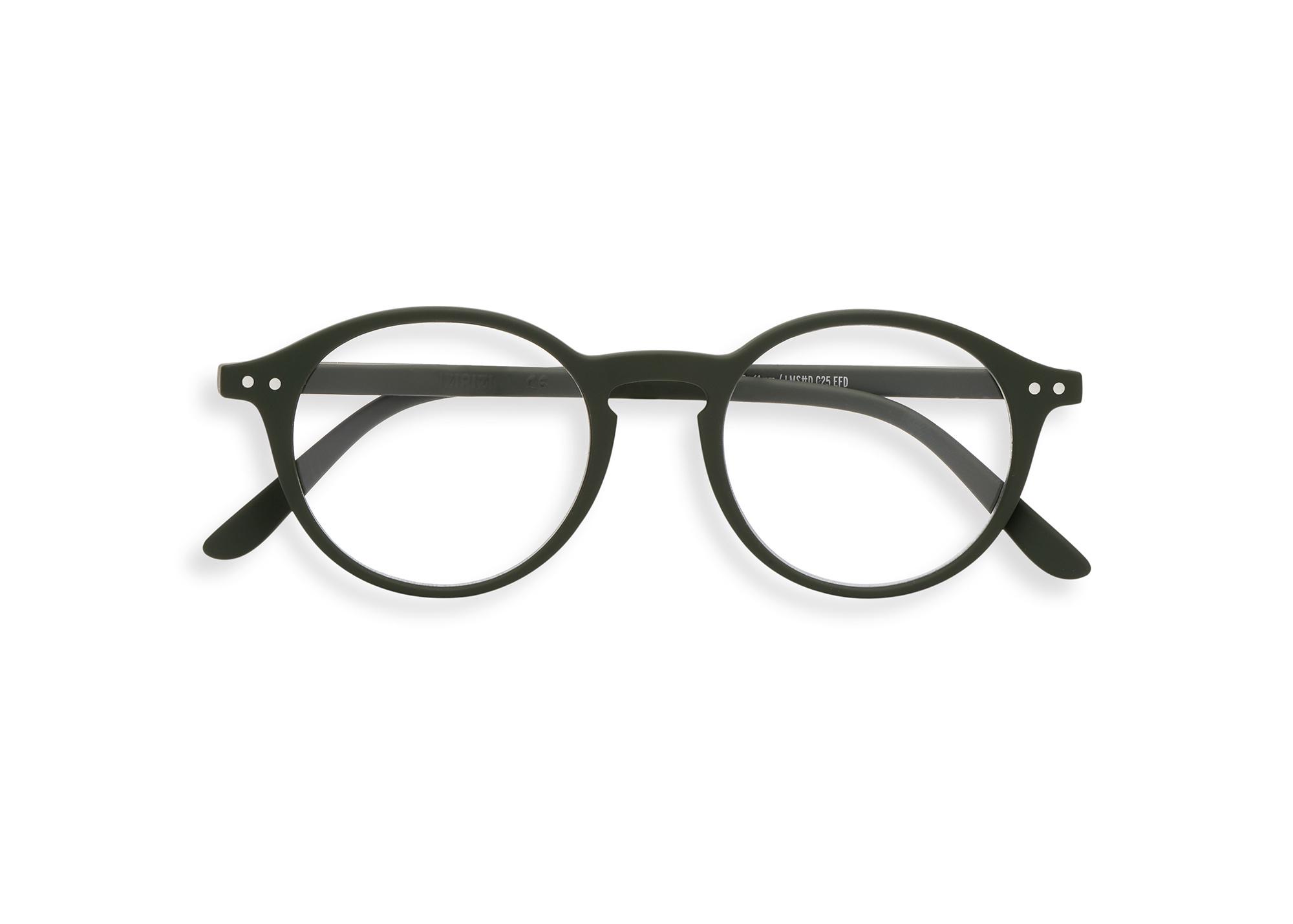 Izipizi leesbril model D Kaki Green-1