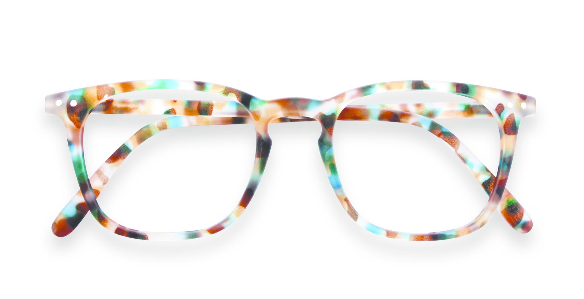 Izipizi leesbril model E Blue Tortoise-1