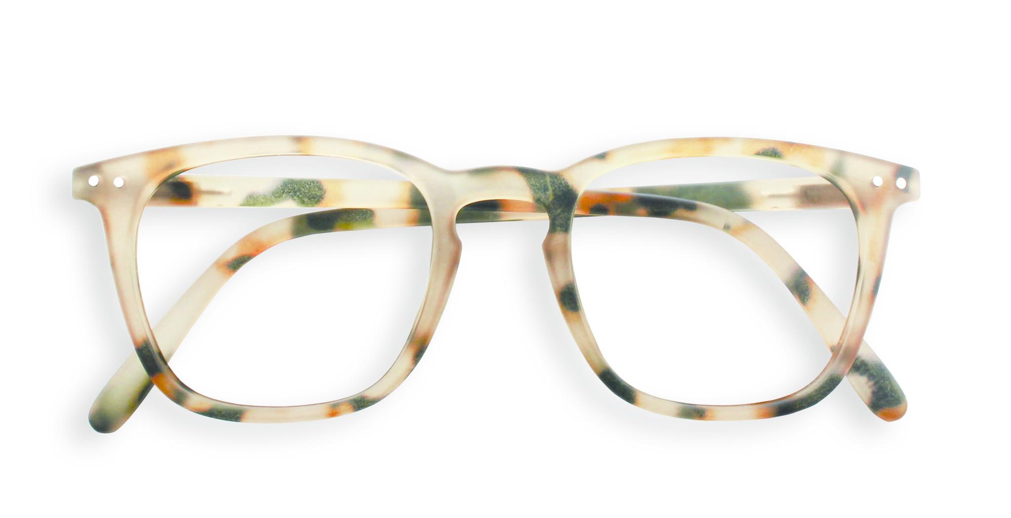 Izipizi leesbril model E Light Tortoise-1