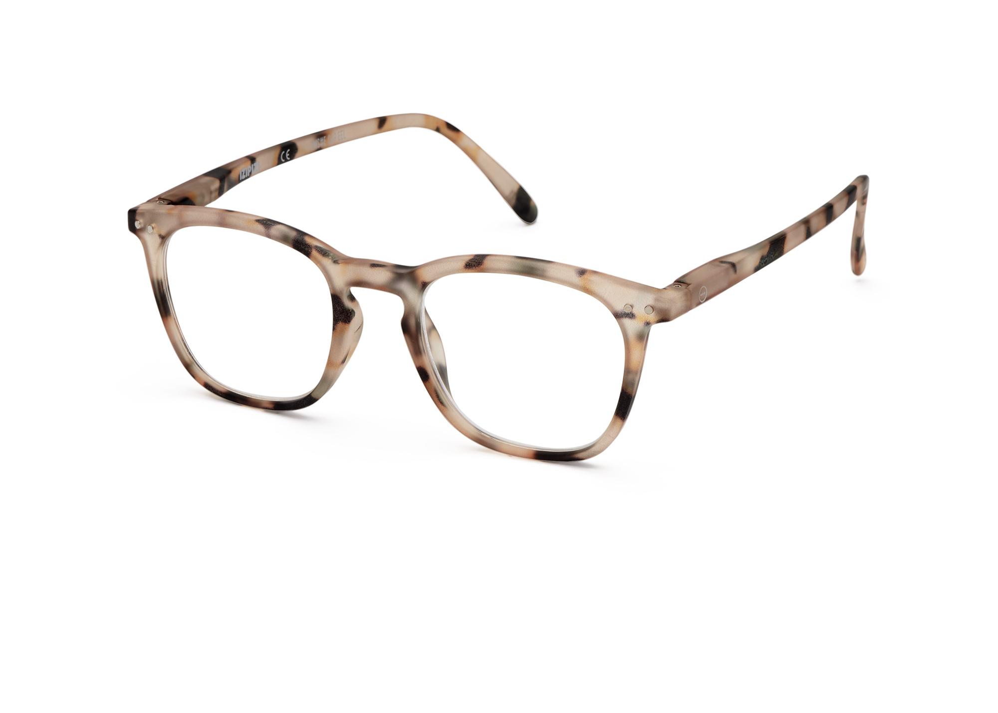 Izipizi leesbril model E Light Tortoise-3