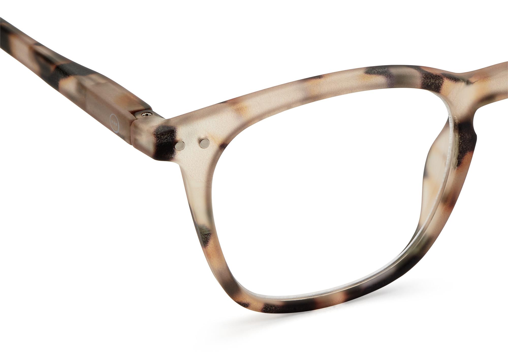 Izipizi leesbril model E Light Tortoise-2