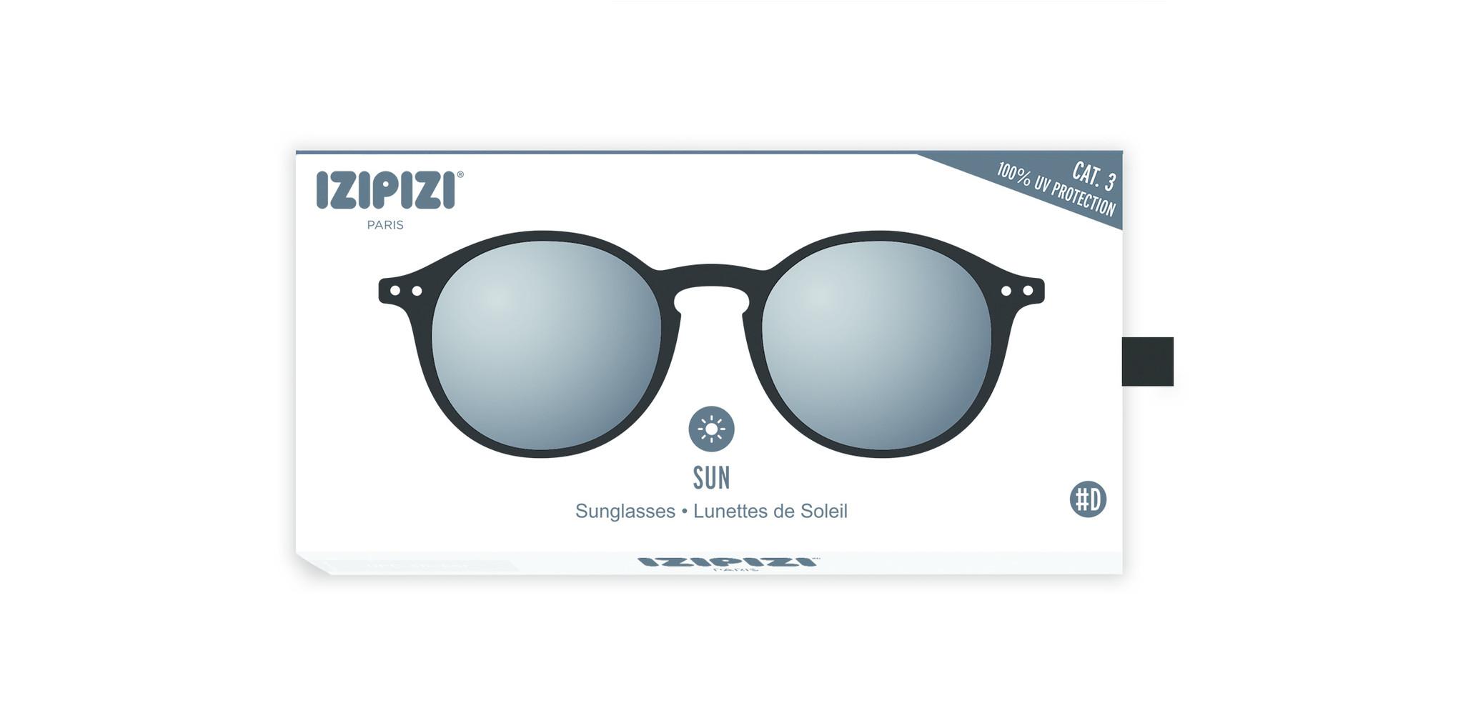 Izipizi Sun leesbril model D Black-2