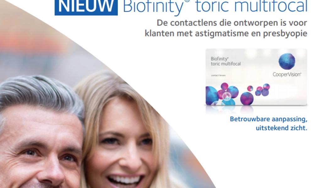 Multifocale Biofinity met cilinder!
