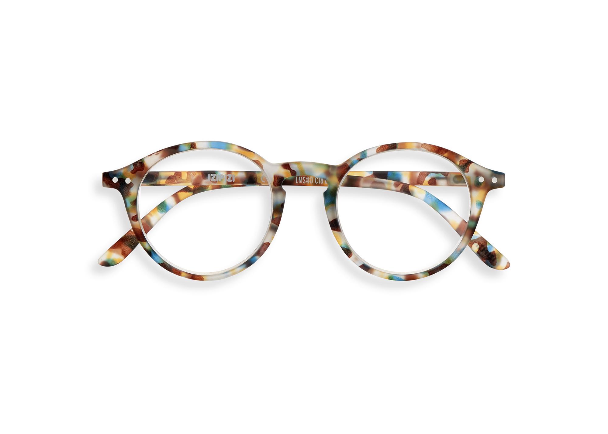 Izipizi leesbril model D Blue Tortoise-1