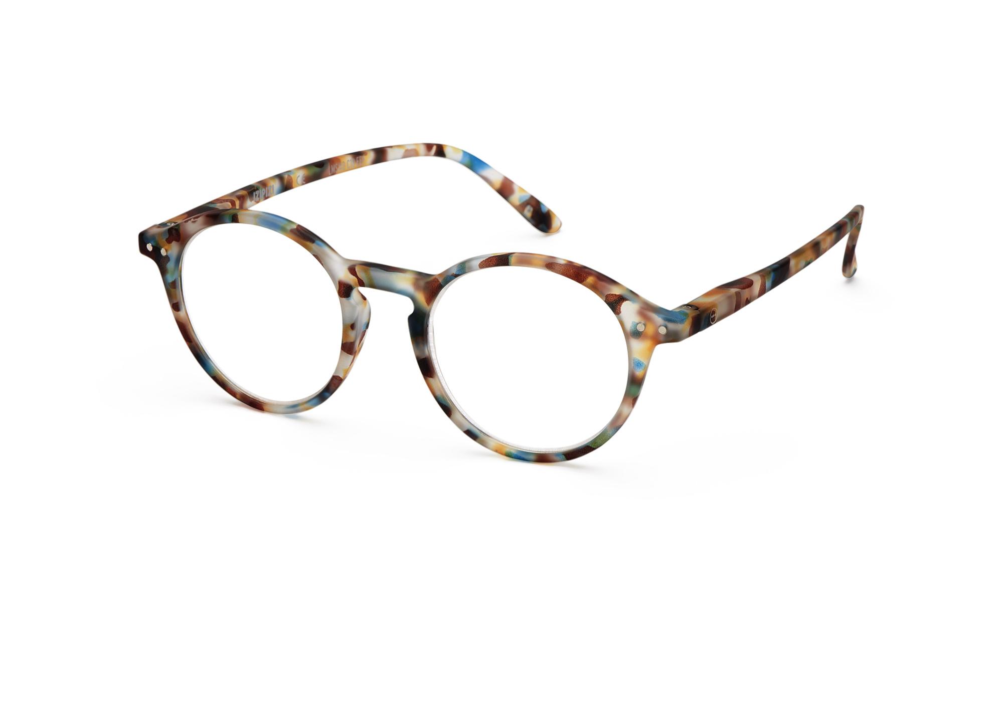 Izipizi leesbril model D Blue Tortoise-3