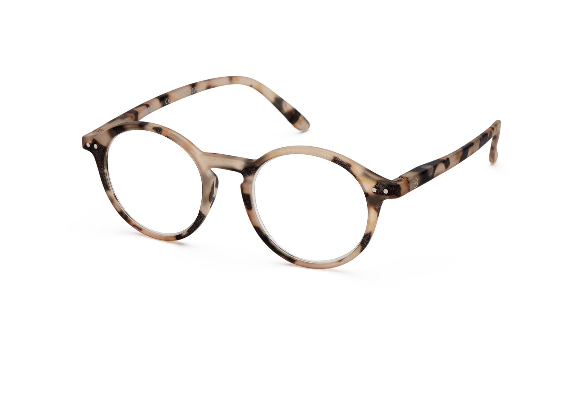 Izipizi leesbril model D Light Tortoise-1