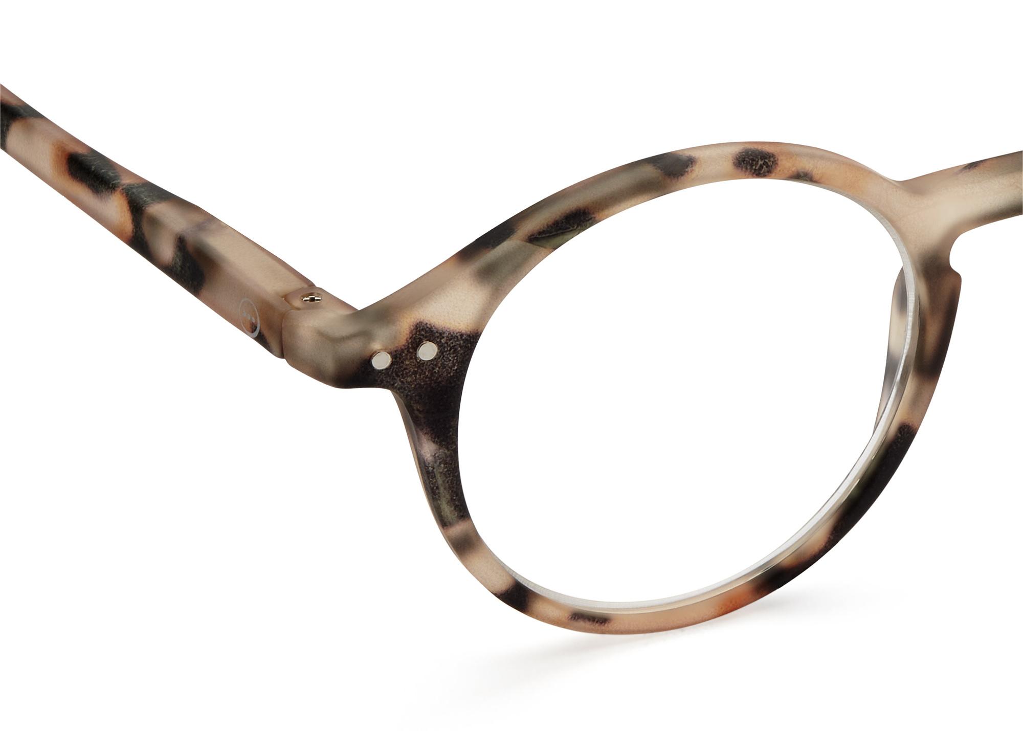 Izipizi leesbril model D Light Tortoise-2