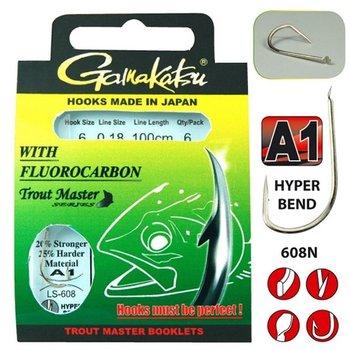Gamakatsu Trout Master Fluorocarbon 608 N
