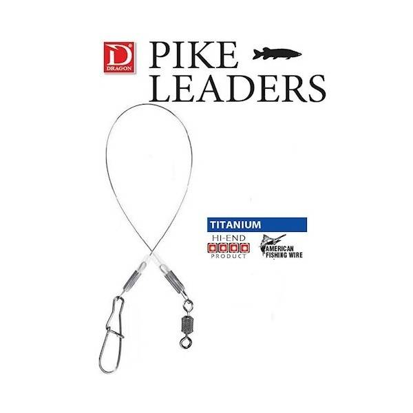 Dragon Big Game Titanium Braid Leader