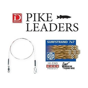 Dragon Classic Surfstrand Pike Leader 7x7