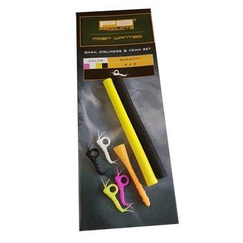 PB Products Snail Zigliners & Foam Set