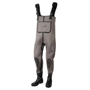 Spro Neoprene Chest Wader With Rubber Boots