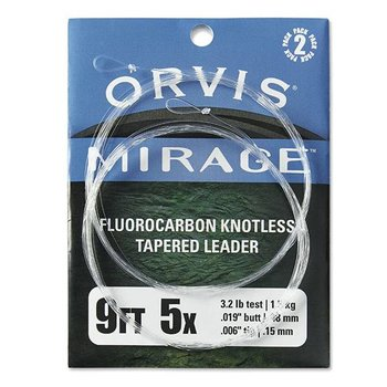 Orvis Mirage Fluorocarbon Knotless Tapered Leader
