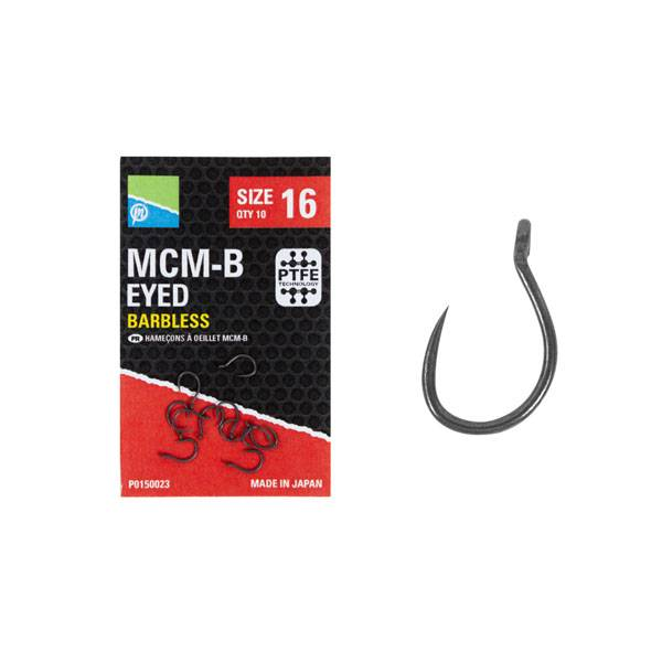 Preston Innovations MCM-B Eyed Barbless