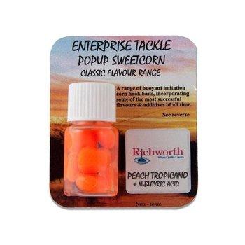 Enterprise Tackle Richworth Peach Tropicano & N-Butyric Acid Pop-Up Sweetcorn