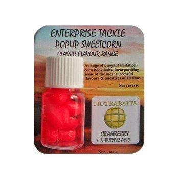 Enterprise Tackle Nutrabaits Cranberry & N-Butyric Acid Pop-Up Sweetcorn