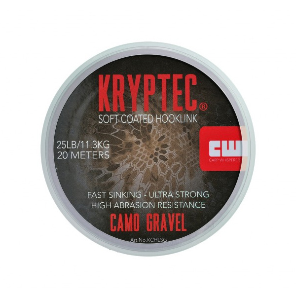 Carp Whisperer Kryptec Soft Coated Hooklink