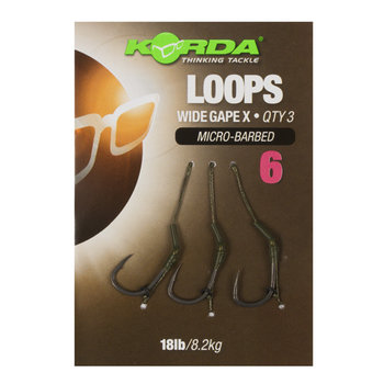 Korda Loops Wide Gape  Hook