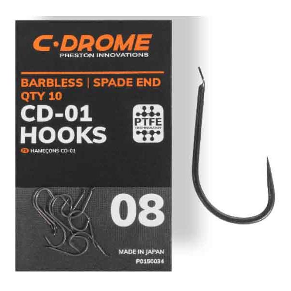 Preston Innovations C-Drome CD-01 Hooks